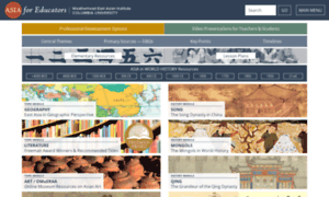 afeeasiacolumbiaedu asia for educators columbia
