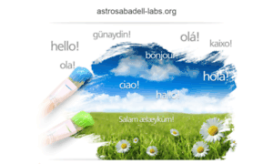Astrosabadell-labs.org thumbnail