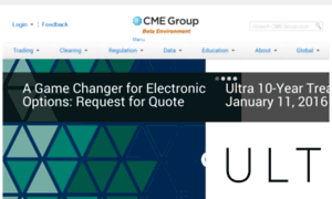 Cme group futures & options trading for risk management