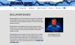 Bollinger bands website