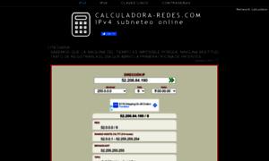 calculadora calculadora ip subneteo online