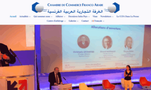 Ccfranco chambre de commerce franco arabe for Chambre commerce franco arabe