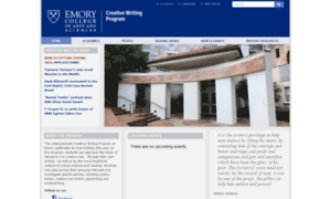 emory creative writing faculty This site all emory sites people home mmuf home » mmuf staff » current fellows current creative writing and sociology faculty mentor: dr abigail.
