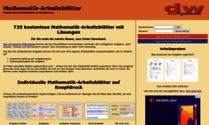 6 Klasse Gymnasium Schulaufgaben amp Übungen  Mathematik HSU