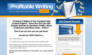 Earn money writing