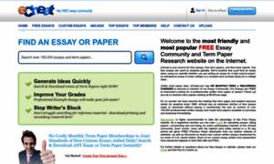 Echeat essays