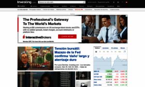 Investing com español finanzas forex y bolsa de valores