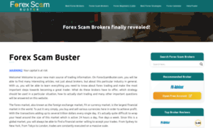 Easy forex scam