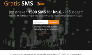 gratis sms treff norge Korsvik