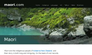 maoricom maori culture language art and tattoo