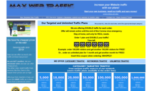 web traffic counter: