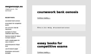Essays.com mega