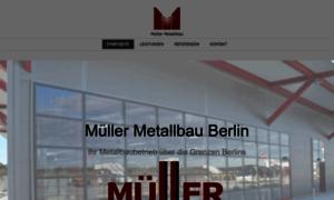 Metallbau berlin wedding