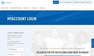 Gm Financial Com >> Myaccount.gmfinancial.com: Log In Account | GM Financial