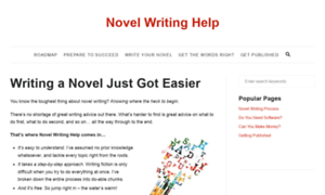 novel writer helper These poor souls think the secret to writing a novel is to write like kathryn stockett she wrote and edited the help over a five-year period.