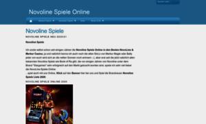novoline spielen info