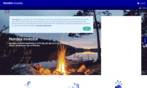 Online.nordea.dk: Nordea Investor