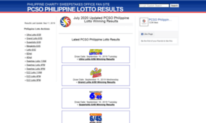 Keno online results philippines