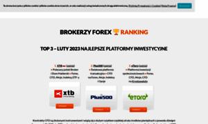 Ranking platform forex 2017