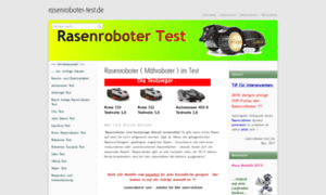 rasenroboter rasenroboter m hroboter im test. Black Bedroom Furniture Sets. Home Design Ideas