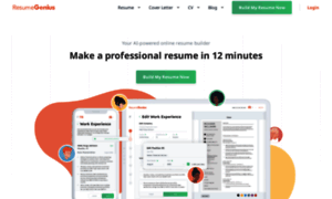 resumegeniuscom thumbnail httpresumegeniuscom resume genius reviews