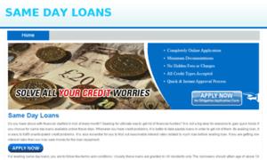 sameday loans - 2