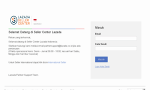 Sellercenter.lazada.co.id: Lazada Seller Center