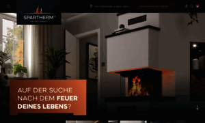 spartherm kamine feuerungstechnik f r kamin und. Black Bedroom Furniture Sets. Home Design Ideas