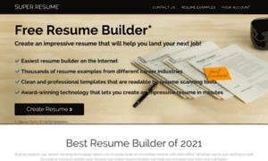 super resumecom thumbnail