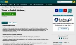 lifco dictionary english to telugu