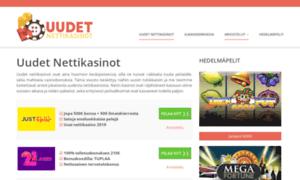 Uudet-nettikasinot.info: Parhaat Uudet Nettikasinot 2017 - Pelaa Nyt ...