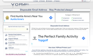 Yopmail.com: YOPmail - Disposable Email Address