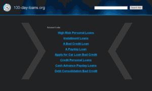 100-day-loans.org thumbnail