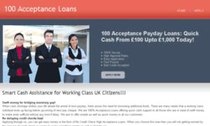 100acceptanceloans.co.uk thumbnail