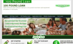 100poundloan.org.uk thumbnail