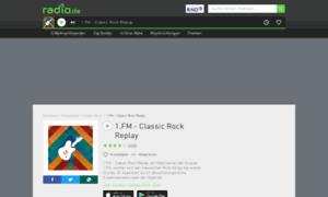 1fmclassicrock.radio.de thumbnail