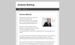 A-behling.de thumbnail