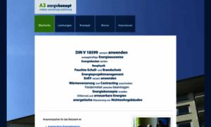 A3energiekonzept.de thumbnail