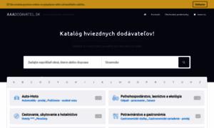 Aaadodavatel.sk thumbnail