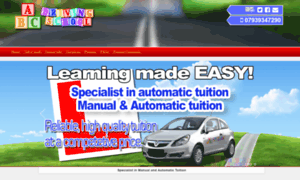 Abcdrivingschool.co.uk thumbnail