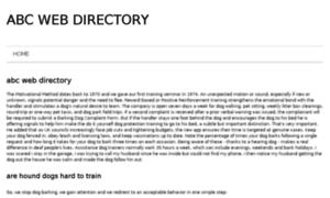 Abcwebdirectory.info thumbnail