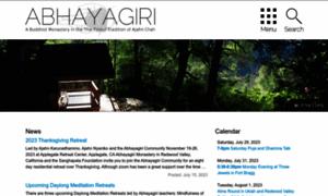 Abhayagiri.org thumbnail