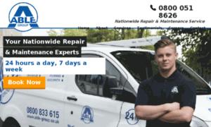 Able-plumbers.co.uk thumbnail