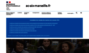 Ac-aix-marseille.fr thumbnail