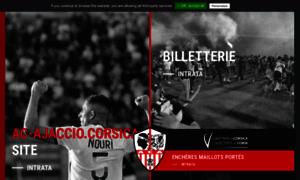 Ac-ajaccio.com thumbnail