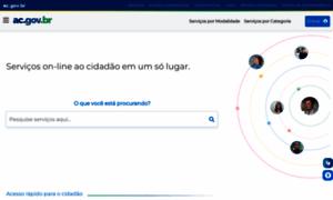 Ac.gov.br thumbnail