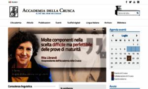 Accademiadellacrusca.it thumbnail
