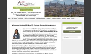 Acceurope2016.com thumbnail