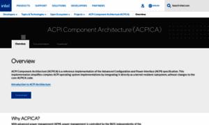 Acpica.org thumbnail