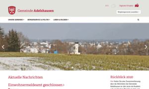 Adelzhausen.de thumbnail